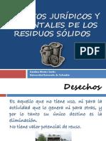 Aspectos Jurídicos y Ambientales de Los Residuos Sólidos