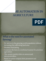 Real Time Automation in Agriculture