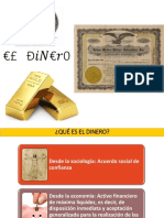 Diapositivas El Dinero