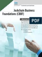 CBBF Exam Prep Guide v1.1