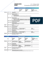 20190306_SEATUC 2019 - Overall Program