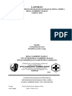 Mmd Tamberu Barat 2019