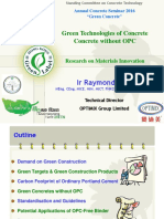 2 Green Technologies of Concrete