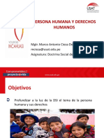Persona Humana y Derechos Humanos (1)