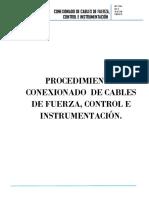Mot-1-004 Conexionado de Cables de Fuerza, Control e Instrumentacion1