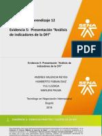 Evidencia 5 Presentacion Analisis de Indicadores de La DFI