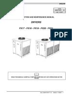 Air Compressor Instruc OSC 600 .2010