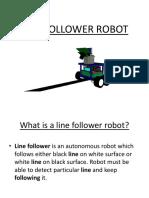 LINE FOLLOWER ROBOT.pptx