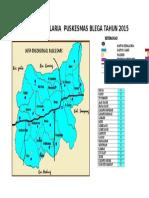 Peta Cakupan Malaria 2015