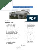 Ficha técnica de calentador de crudo