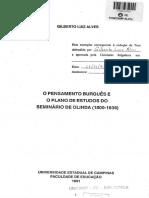 ALVES, Gilberto Luiz. O pensamento burguês e o plano de estudos do seminário de Olinda (1800-1836).pdf