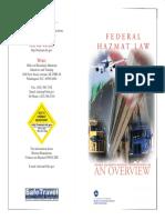 Federal Hazmat Law