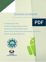 Investigacion Unidad 1 Lenguaje de Interfaz