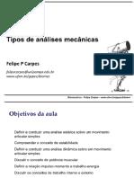 Aula 8   Tipos De Analises Mecanicas.pdf