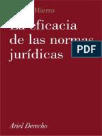 (Ariel Derecho, 2003) HIERRO, Liborio - La eficacia de las normas jurídicas.pdf