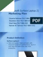 Microsoft Surface Laptop 2].pptx