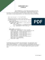 Worksheet AB29.1 - LinkedList.doc