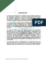 Matriz Del Proyecto Reforestacion