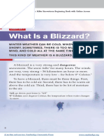 PET Reading Blizzard
