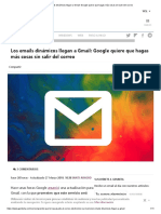 Los Emails Dinámicos Llegan a Gmail_ Google Quiere Que Hagas Más Cosas Sin Salir Del Correo