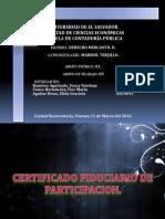 Certificado Fiduciario de Participación