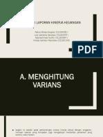 Analisis Laporan Keuangan Kinerja