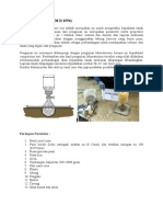 Metode Kerja Sand Cone Test