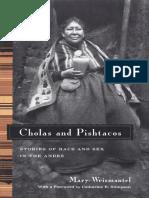 Weismantel, Mary (2001) Cholas and Pishtacos.pdf