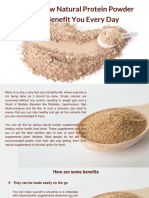 Here How Natural Protein Powder Can Benefit You Everyday