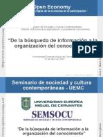 De la búsqueda de información a la gestión del conocimiento