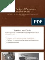 Elastic Design of Prestressed Concrete Beams
