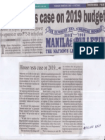 Manila Bulletin, Mar. 28, 2019, House rests case on 2019 budget.pdf