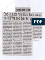 Peoples Journal, Mar. 28, 2019, End to labor migration, help desks for OFWs and their kin proposed.pdf