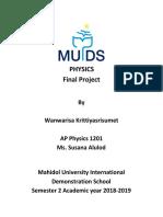 ap phys - final project 2019