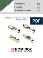 Bominox Rotor Instruction Manual