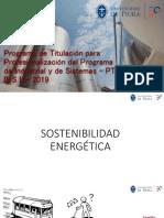1. Sostenibilidad Energética