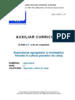 Exploatarea agregatelor si instalatiilor folosite in cultura plantelor de camp.doc