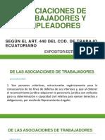 Asociaciones de trabajadores y empleadores Ecuador