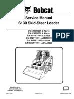 BOBCAT S130 SKID STEER LOADER Service Repair Manual SN A8KA11001-A8KA59999.pdf