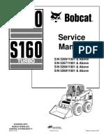 BOBCAT S150 SKID STEER LOADER Service Repair Manual SN 526911001 & Above.pdf