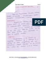 CE6016 PS Unit 1 Notes