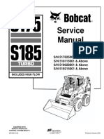 BOBCAT S175 SKID STEER LOADER Service Repair Manual SN 517625001 & Above.pdf
