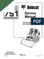 BOBCAT 751 SKID STEER LOADER Service Repair Manual SN 515730001 & Above.pdf