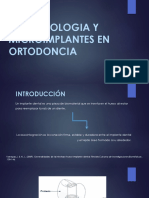 IMPLANTOLOGIA Y MICROIMPLANTES EN ORTODONCIA