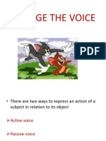Change the Voice