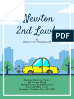 newton 2nd law   1
