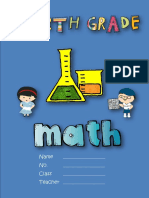 G4 Bilingual Math Workbook - Fall 2018