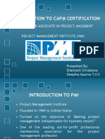 INTRODUCTION TO CAPM CERTIFICATION.pptx
