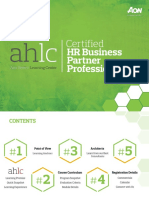 AHLC Catalog Certified HR Business Partner