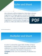 Multiplier Shunt